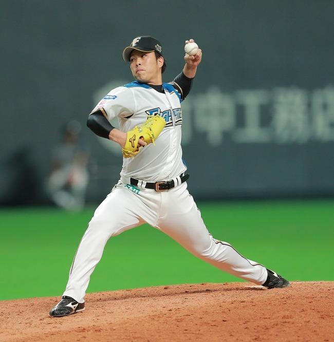 【日ハム】 公文克彦 3勝0敗 2.97