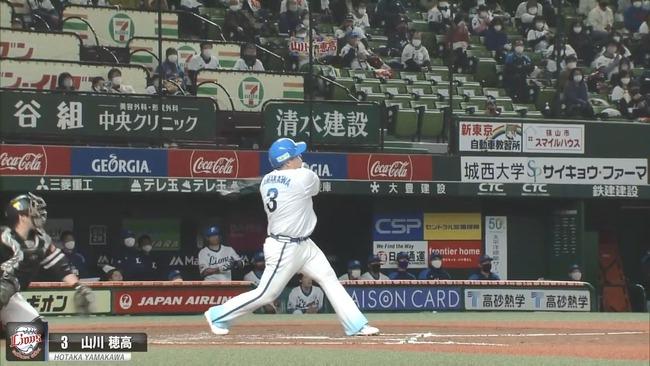 山川穂高 打率.216 ←ざっこ