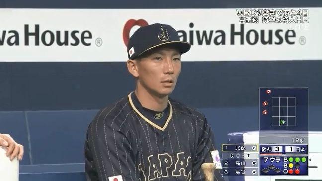 【悲報】嶋が離脱へ=WBC日本代表
