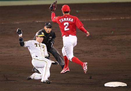 【悲報】阪神タイガースさん、年間8盗塁ペース