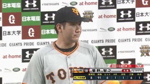 日本のエース菅野智之さん、タイトルを総なめにする