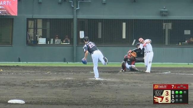 【楽天対ロッテ】楽天・オコエ、ロッテ西野からソロホームラン!!!!!!