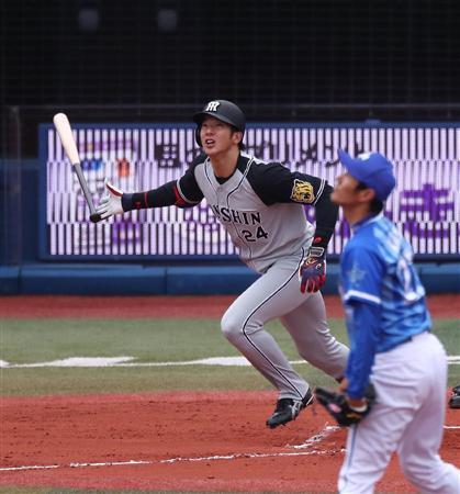 阪神・横田「とにかく転がす」