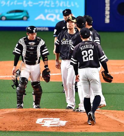 ソフトバンク千賀「(松坂)大輔さんがグラウンドにいるのを見るのは初めてだった。」