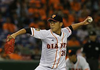 【朗報】内海哲也さん、9年連続規定投球回到達