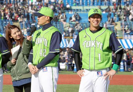 ヤクルト・山田哲、来季はトリプルスリー目標