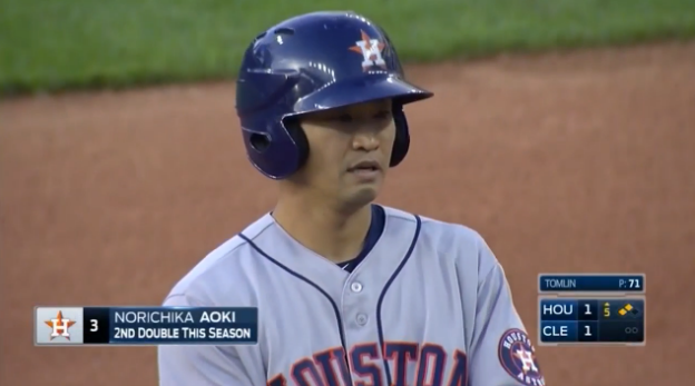 【朗報】アストロズ青木さん、4打数3安打1打点で勝利に貢献