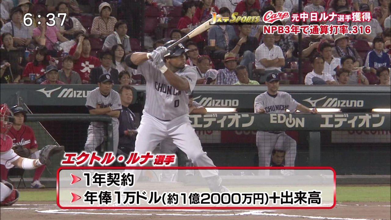 【誤植ネタ】広島、ルナを年俸1万ドルで獲得wwwwwww: なんじぇい ...