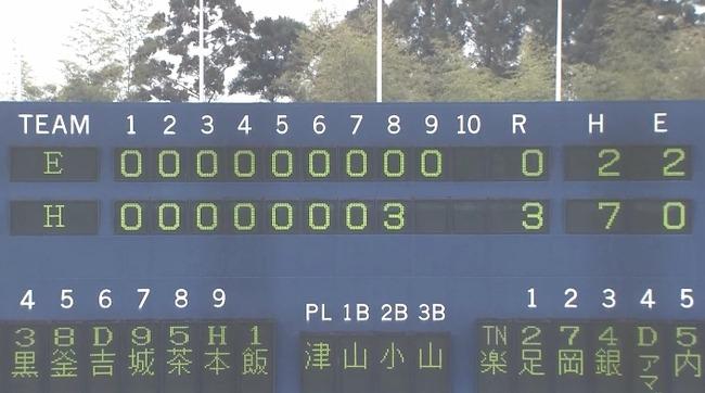 【練習試合】ソフトバンク対楽天はソフトバンクが3-0で勝利!
