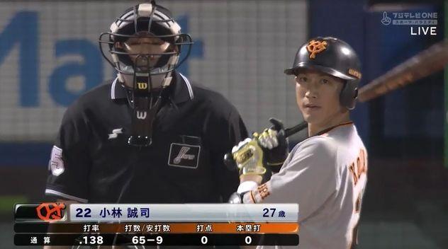 【朗報】小林誠司さん、打率.136だけど叩かれない