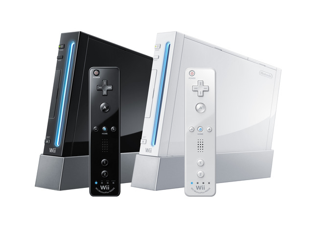 Black-and-White-Wii-Consoles-with-Wii-MotionPlus-Controllers