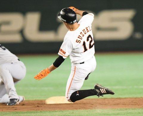 【悲報】鈴木尚広さんの盗塁成功率日本記録(200盗塁以上)、来年にも更新されそう