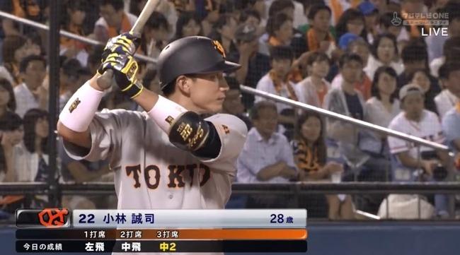 【朗報】小林誠司さん、打率が2割台にwwwwwwwwwwwwwwwww