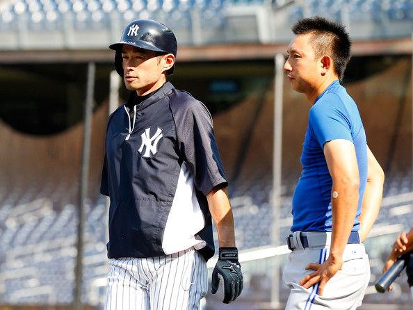 Ichiro+Suzuki+Munenori+Kawasaki+Toronto+Blue+UbU7Km2ejdFl