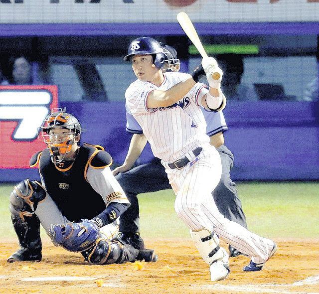 山田哲、球団日本人最多タイの8打数連続安打!打率3割に乗せた なおヤ