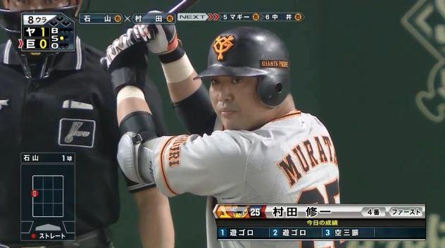 【悲報】村田修一さん、マジで戦力外になりそう