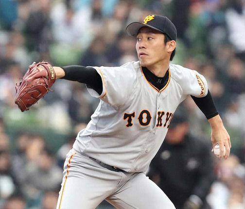 【巨人】吉川光夫 0勝3敗 7.00 18回 26被安打 6四球 3三振