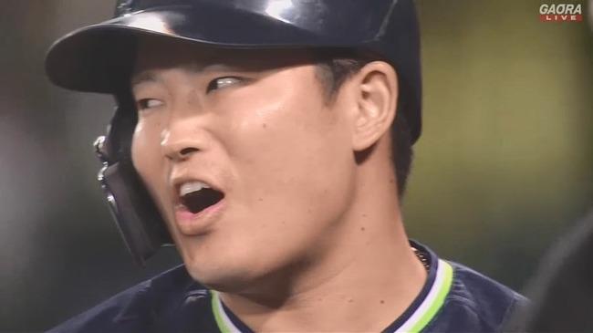 【阪神対ヤクルト25回戦】ヤクルト・村上「うそぉー」