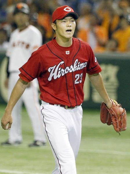 【広島】松田オーナーに薮田母「息子は速いボール投げます」
