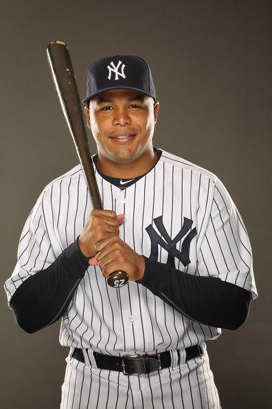 Andruw+Jones+New+York+Yankees+Photo+Day+EtWldbSUc3hl