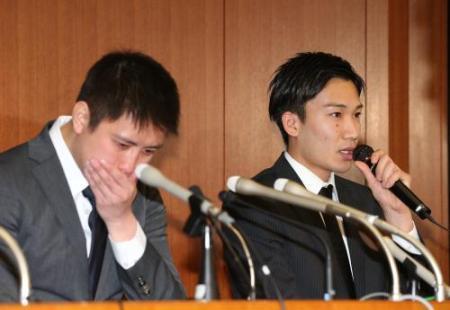 桃田「巨人の野球賭博報道見て怖くなって誰にも言えなかった」