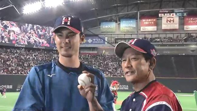日本ハムが西武に勝ち越し!上原がプロ初勝利!!