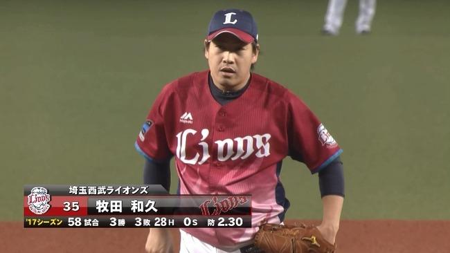 阪神、西武・牧田に興味!球団幹部「先発投手は何人いてもいい」