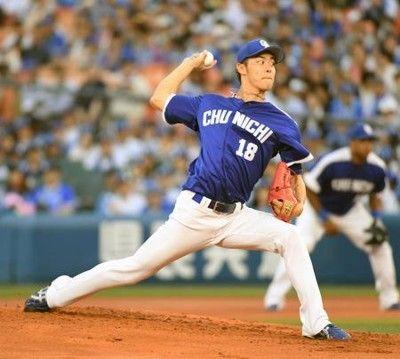 鈴木翔太(中) 防御率2.86 2勝2敗