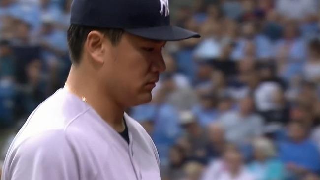 田中将大 5勝3敗 防御率6.53 WHIP1.60