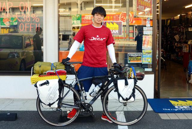 カープ津田恒実さんの長男(28)、日本一周自転車の旅へ 「広島に父の記念館を設立したい」