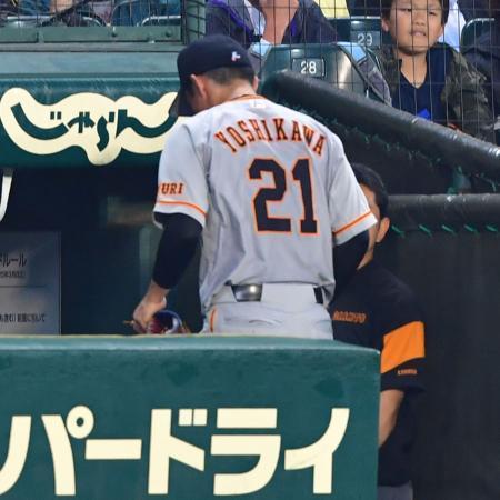 「鳥谷さんに申し訳ない」危険球退場の巨人吉川光