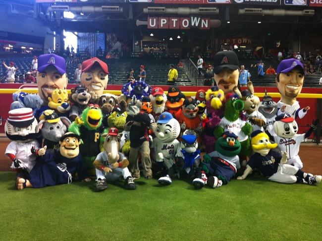 Mascots-MLB