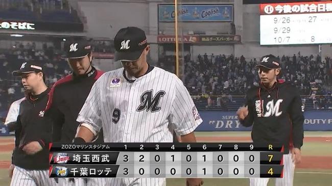 【悲報】9月のロッテ、2勝11敗