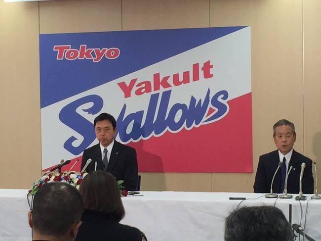 ヤクルト新監督に小川氏が就任決定 2年契約