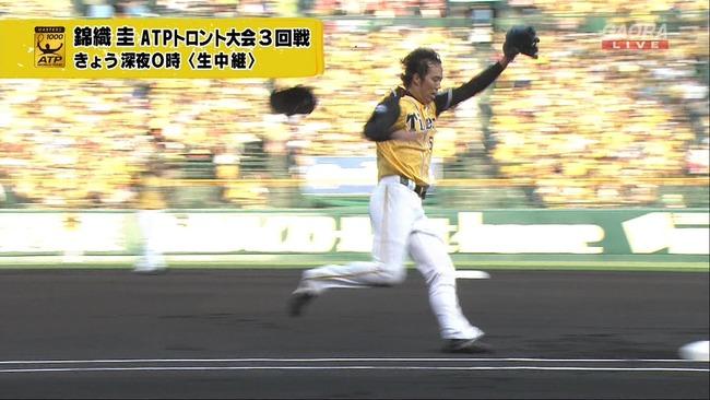 阪神のルーキー青柳投手の躍動感