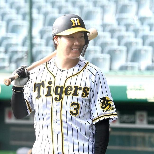 阪神・大山が来季チームキャプテン