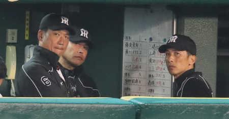 阪神・矢野コーチが2軍監督 引退の安藤&新井良も即コーチに