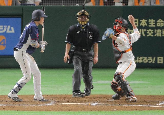 【朗報】巨人小林誠司さん、盗塁数12球団トップの西武を3連戦で盗塁0に抑える