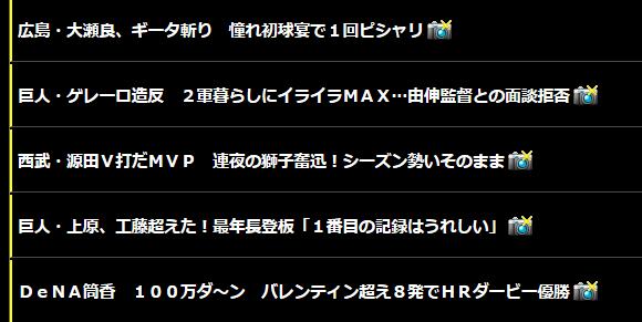 【阪神Vデイリー】 巨人・ゲレーロ造反 2軍暮らしにイライラMAX…由伸監督との面談拒否