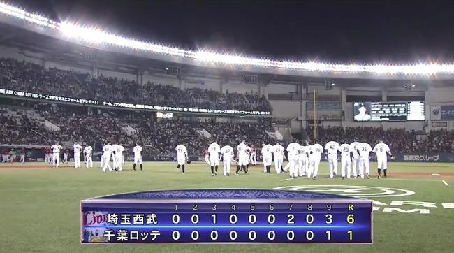 【悲報】千葉ロッテマリーンズ 6 0 敗