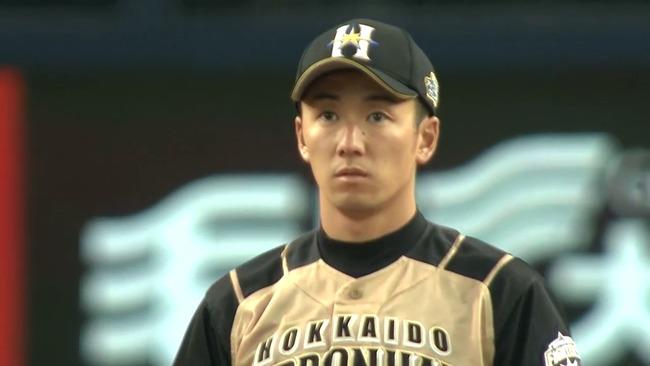 8失点目のHRを打たれた瞬間の斎藤佑樹さんの顔