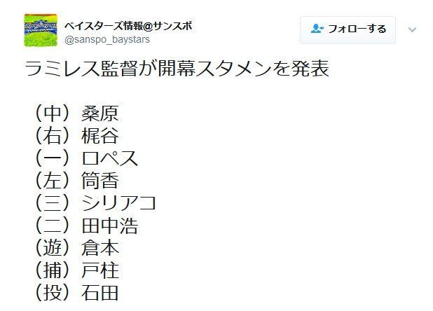 【朗報】DeNA・田中浩康さん、戦力外から開幕スタメンを勝ち取る