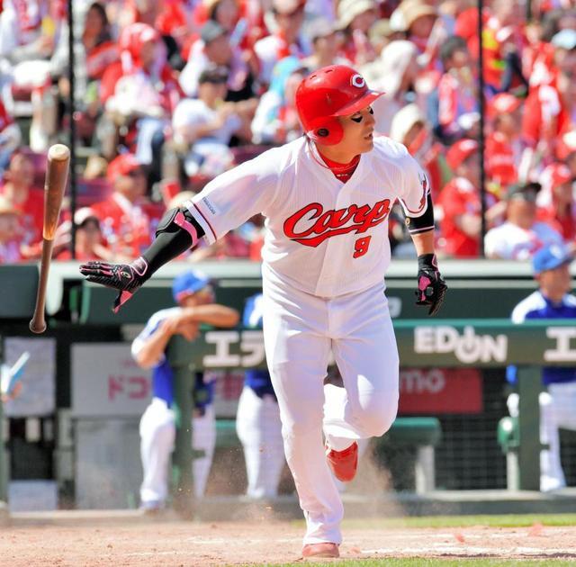 丸佳浩(28) 打率.329 6本 21打点 6盗塁 OPS.952