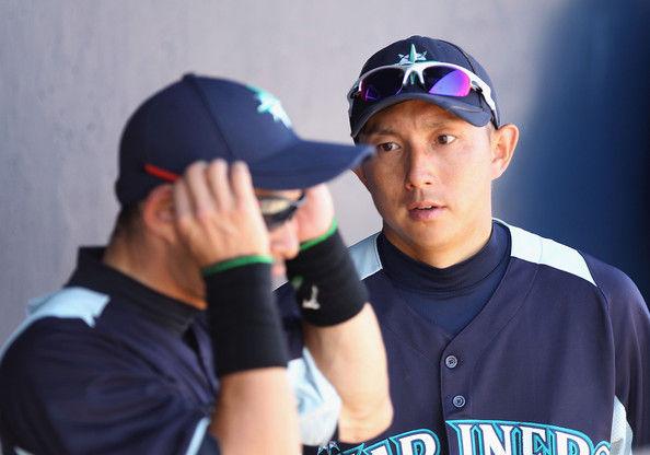 Ichiro+Suzuki+Munenori+Kawasaki+Cincinnati+A-gXmvobqVNl