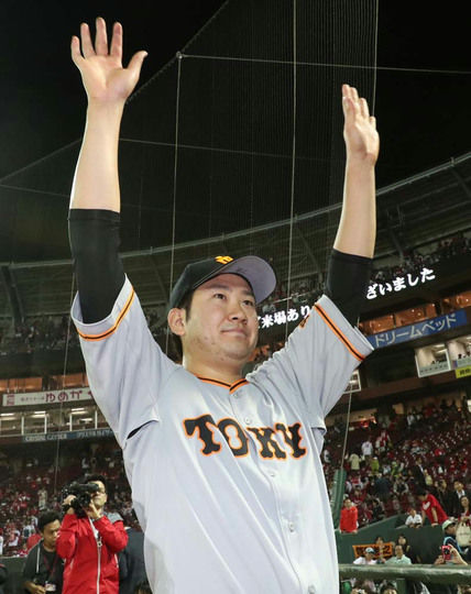 菅野投手、4月で3勝wwwwwww