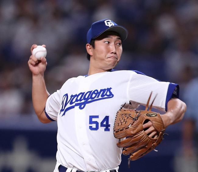 中日・藤嶋、右手血行障害でカテーテル手術 血流改善を確認、回復へ