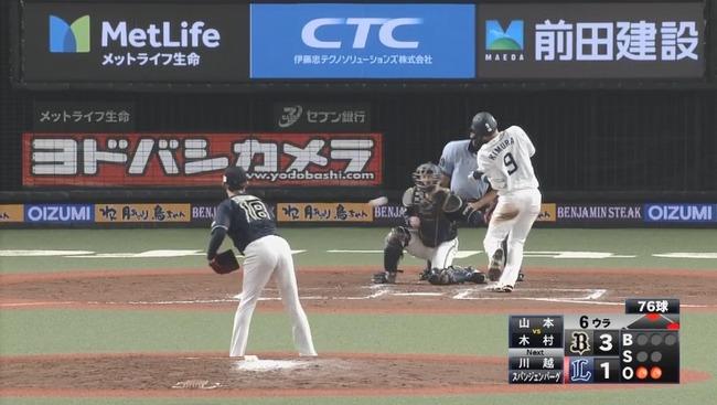 【悲報】西武ベンチ、山本由伸(21)にとんでもないヤジをしてしまう