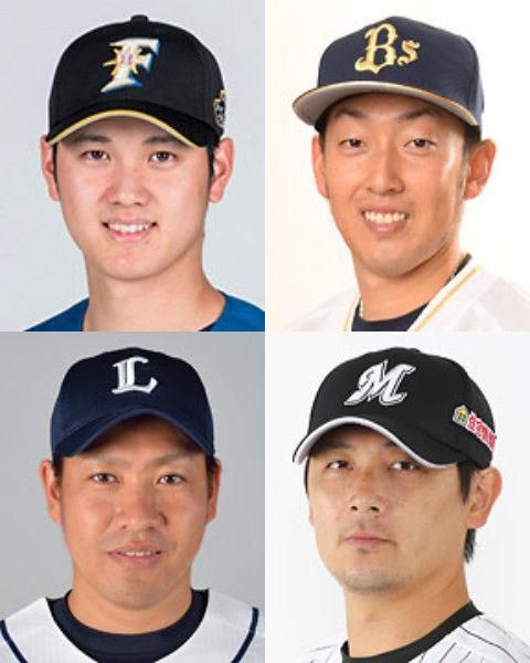 メジャーフロント「大谷>>平野>>>>>>>>>牧田、涌井」