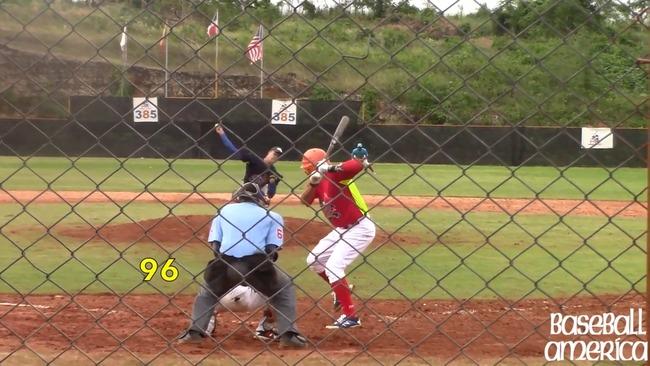 キューバの15歳が154km/hを記録www