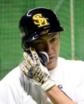 【朗報】柳田悠岐、フェイスガードで強打者感が更に増す
